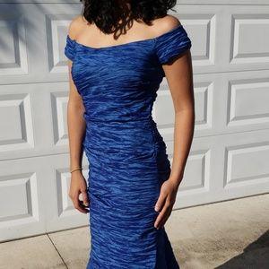 Beautiful blue mermaid dress